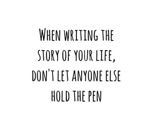 quote, life, and story image