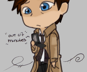 chibi, supernatural, and castiel image