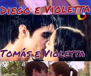 kisses, violetta, and diego domínguez image