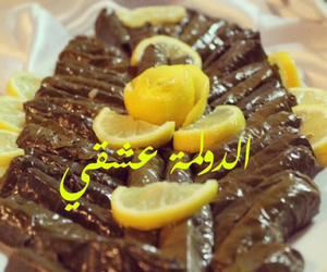 food, yummy, and grape leaves image