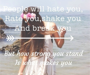 beach, girl, and quotes image