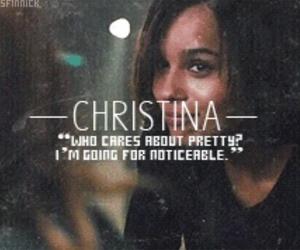 divergent, christina, and insurgent image