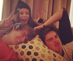 chaz somers, caitlin beadles, and christian beadles image