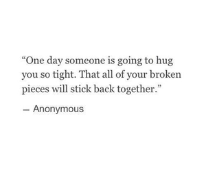 quotes, love, and hug image
