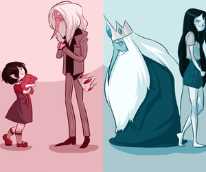 adventure time, marceline, and ice king image