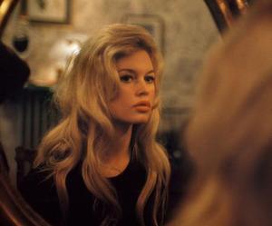 brigitte bardot, mirror, and vintage image