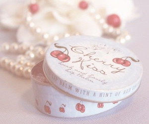 cherry, vintage, and pearls image