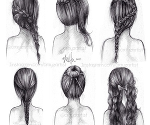 braids, hairstyles, and lovely image
