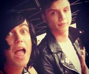 kellin quinn, andy biersack, and black veil brides image
