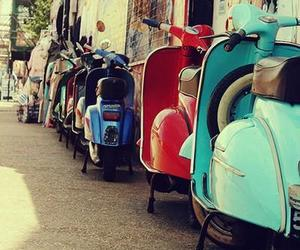 Vespa, vintage, and italy image
