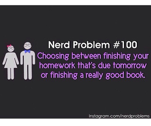 books, fandom, and nerd image