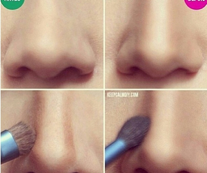 nose, makeup, and make up image