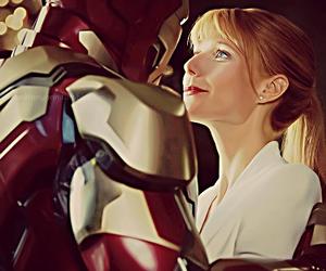 love, tony stark, and iron man image