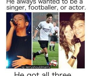 louis tomlinson, larry stylinson, and one direction image