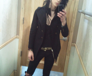 black veil brides, andy biersack, and andy six image