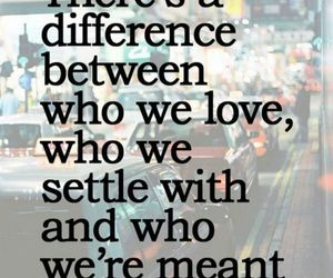 love, quote, and difference image