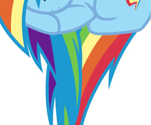 dash, MLP, and my little pony image