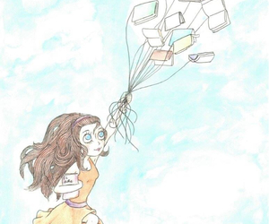 book, fly, and girl image