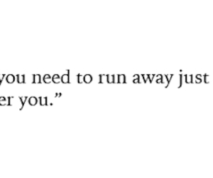 quote and runaway image