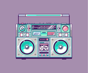 wallpaper, music, and cute image