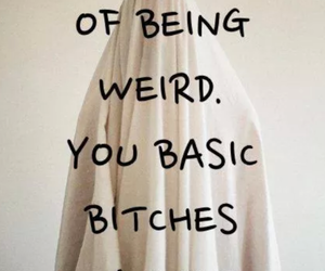 weird, quotes, and bitch image