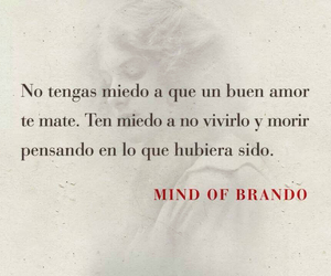 love, miedo, and frases image