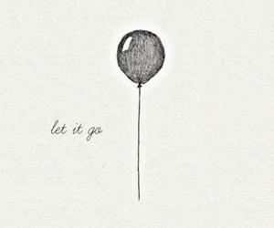 let it go, balloon, and drawing image