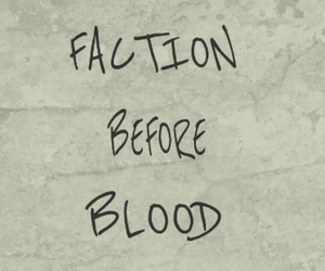 divergent, factions, and blood image