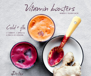 healthy, food, and vitamin image