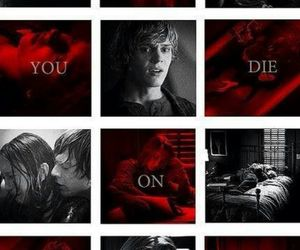 dead, suicide, and american horror story image
