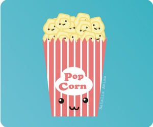 kawaii, cute, and Pop cOrn image