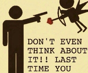love, quote, and cupid image