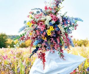 colorful, fashion, and flowers image