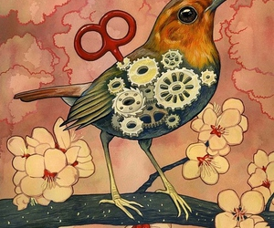 bird, illustration, and art image