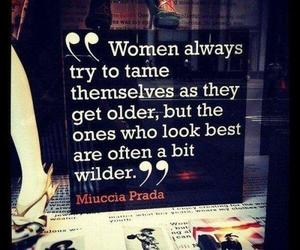 quote, life, and Prada image