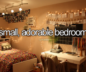 bedroom, adorable, and small image