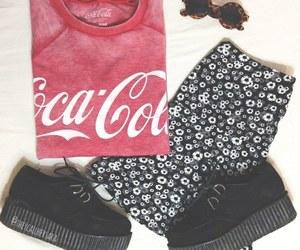 fashion, coca cola, and creepers image