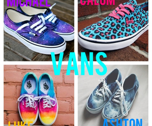 vans, preferences, and 5sos image
