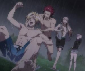 rain, kamigami no asobi, and brother image
