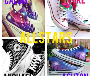 allstars, colours, and floral image