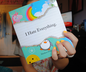book, i hate everything, and photography image