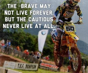 motocross, passion, and motorbike image