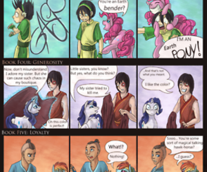 avatar, funny, and my little pony image