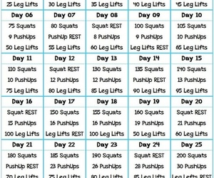exercises, skinny body, and fitness image