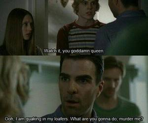 american horror story, zachary quinto, and evan peters image
