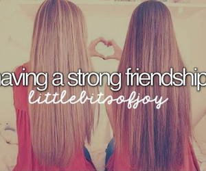 best friends, Relationship, and strong image