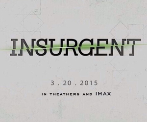 insurgent, divergent, and movie image