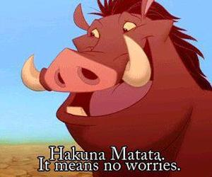 lion king, no worries, and roi lion image