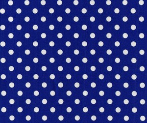 background, polka dots, and blue image