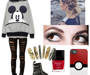 clothes, pokemon, and Polyvore image